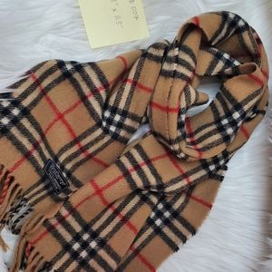 Authentic Burberry nova check scarf